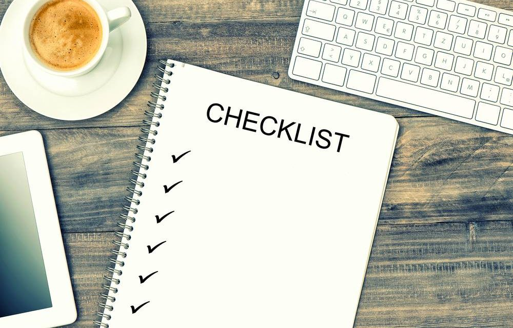 Administrative Tasks Checklist: Bakery Business Edition